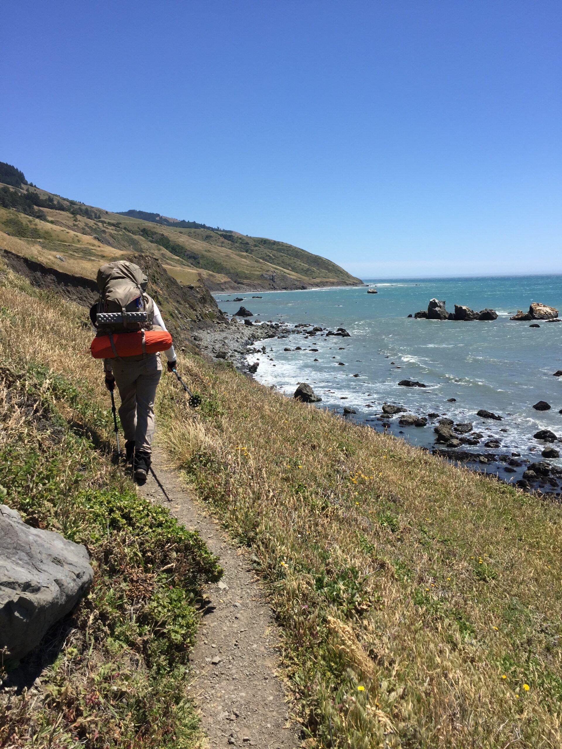 Lost Coast Trail on the California coast