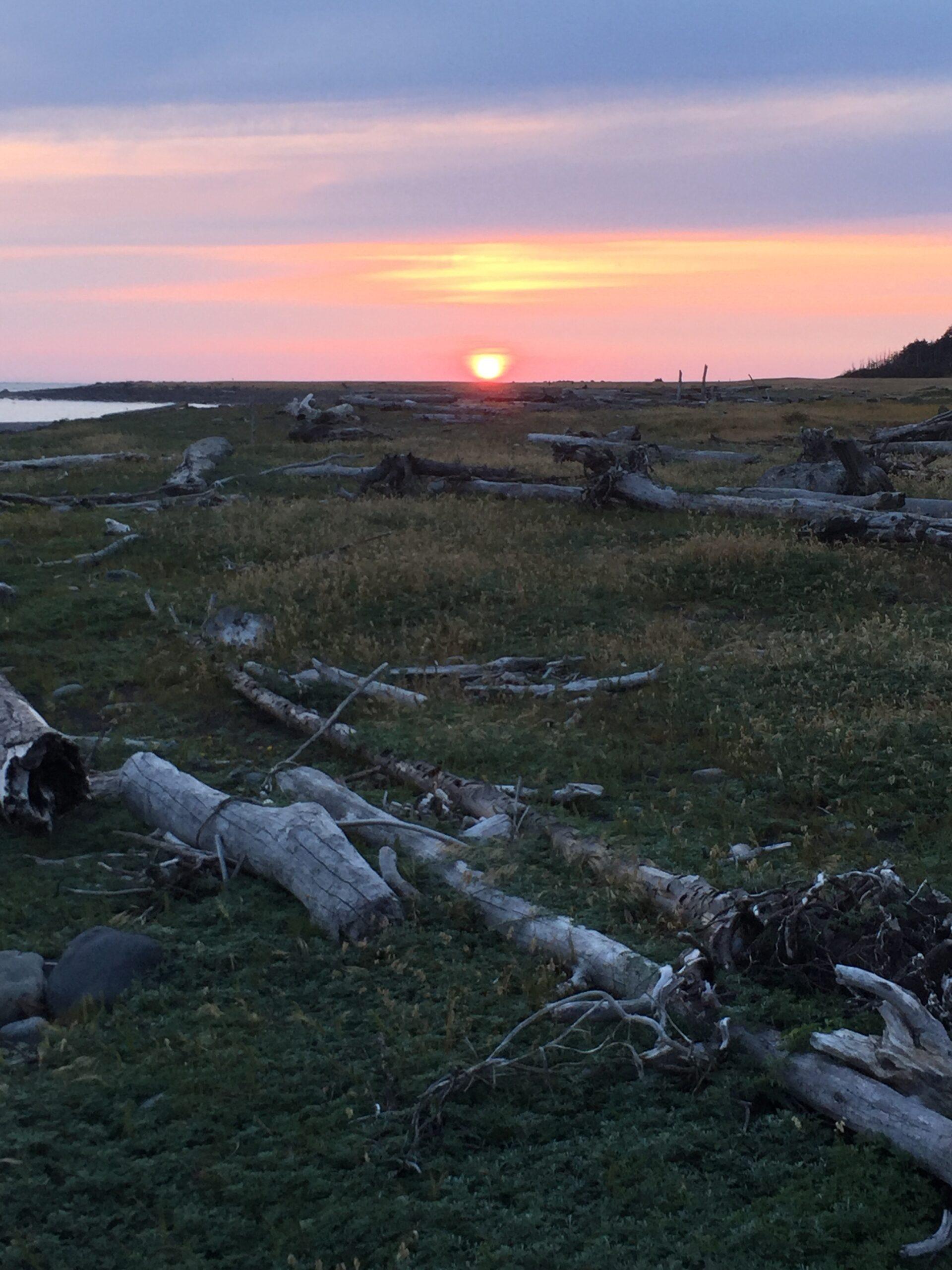 Sunrise on the Lost Coast Trail